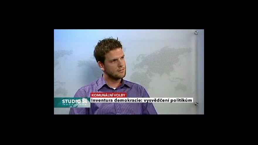Video Studio ČT24 o debatě Vyznáte se v Praze?