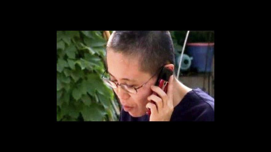 Video Nobelovu cenu převezme disidentova manželka
