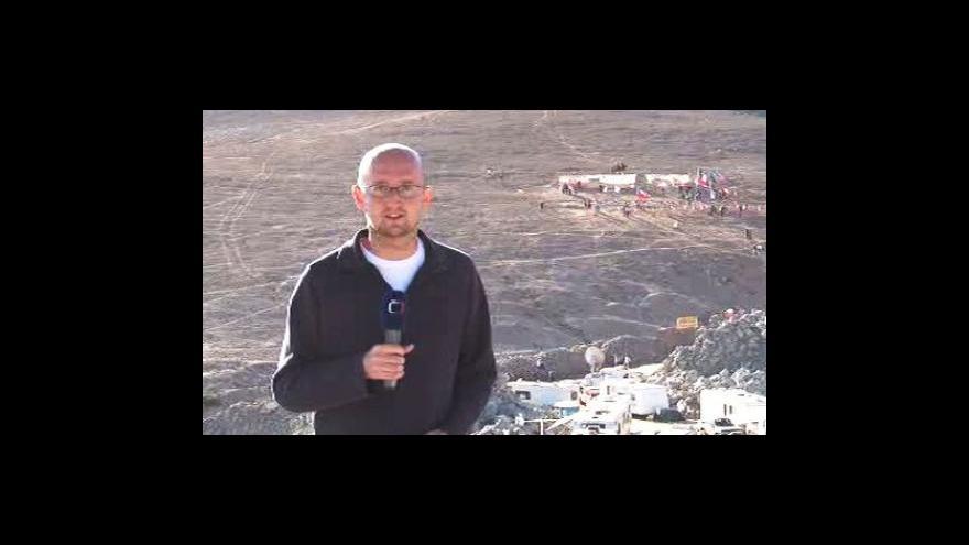 Video Vstup a reportáž Petra Zavadila