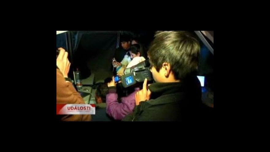 Video Chile se připravuje na záchranu horníků