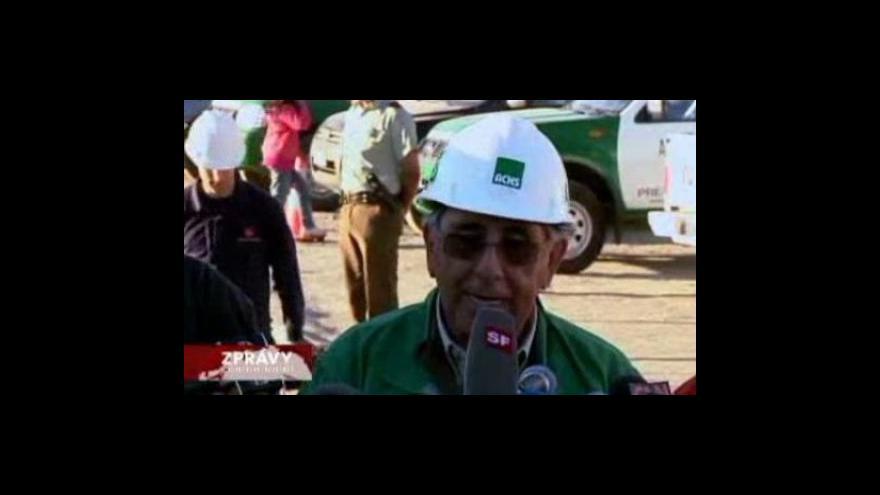 Video Poslední okamžiky horníků před vytažením