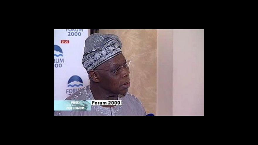 Video Rozhovor s Olusegunem Obasanjou
