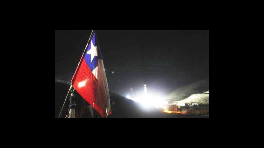 Video Záchrana chilských horníků je na dosah