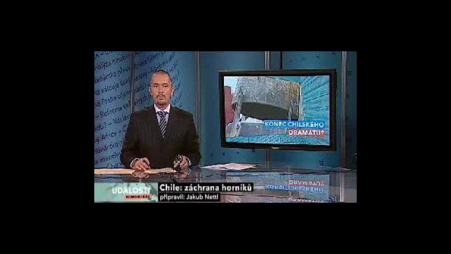 Video Vyprošťování chilských horníků