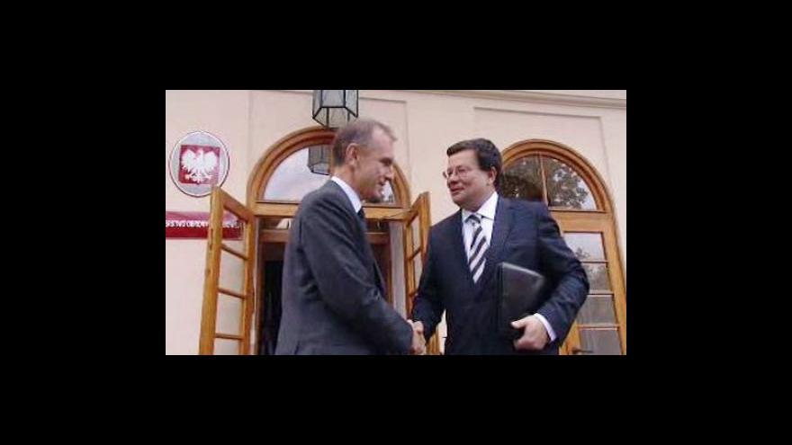 Video Vondra v Polsku jedná o obraně