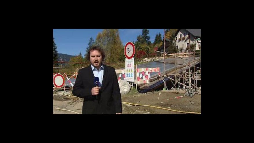 Video Spor o železnorudský most