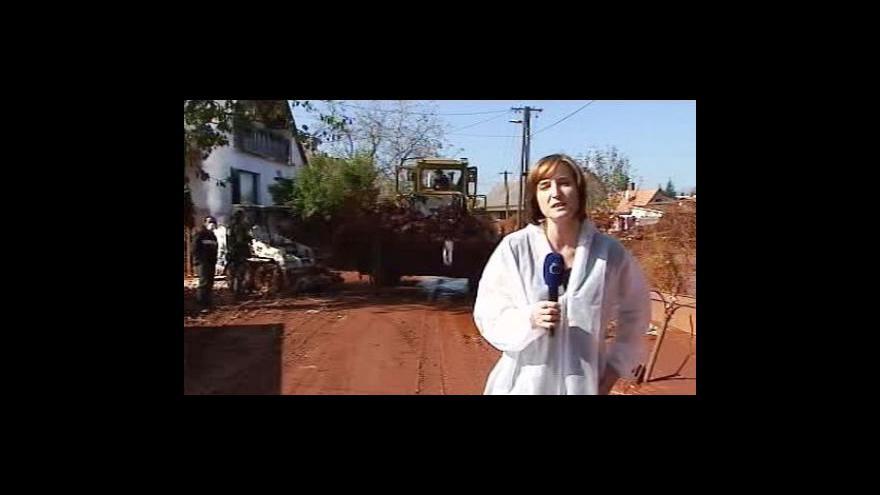 Video Vstup Olgy Bakové a její reportáž z Devecseru