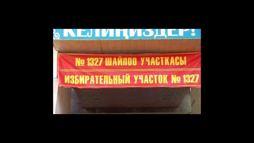 Video Kyrgyzstán volí parlament