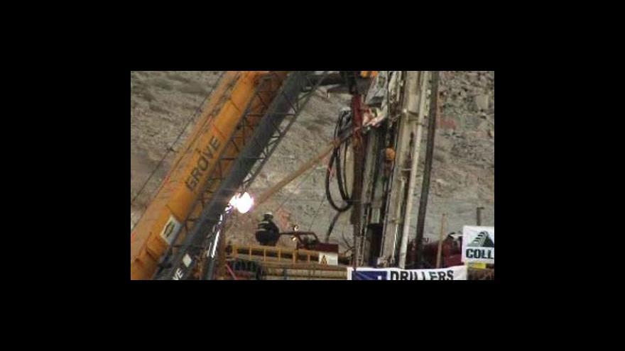 Video Tunel k chilským horníkům je hotov