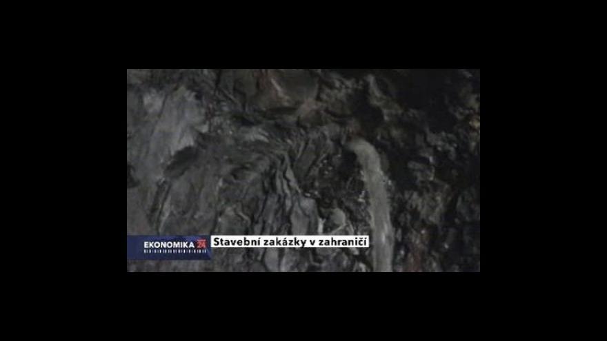 Video Metrostav postavil tunely na Islandu