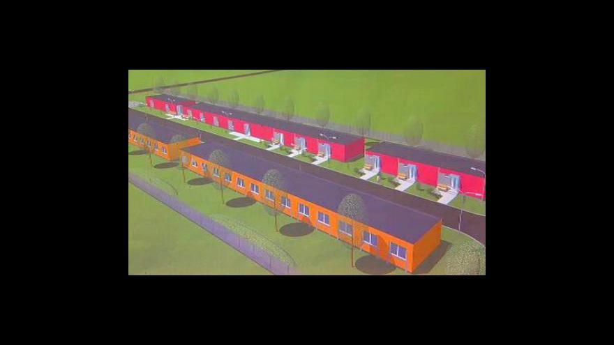 Video Bourání romské kolonie v Holešově