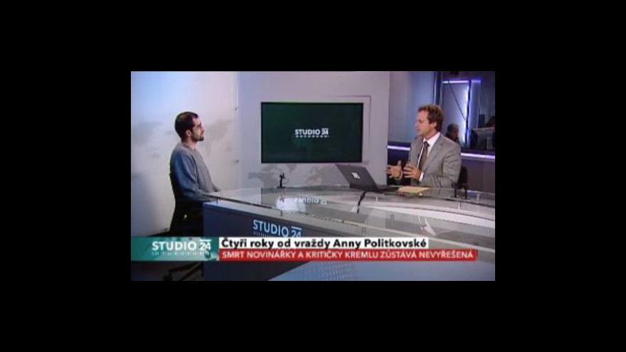 Video Rozhovor s  rusistou Rostislavem Vejvodou