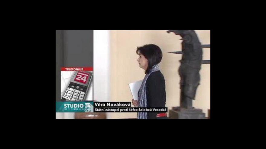 Video Rozhovor s iniciátorkou petice Věrou Novákovou