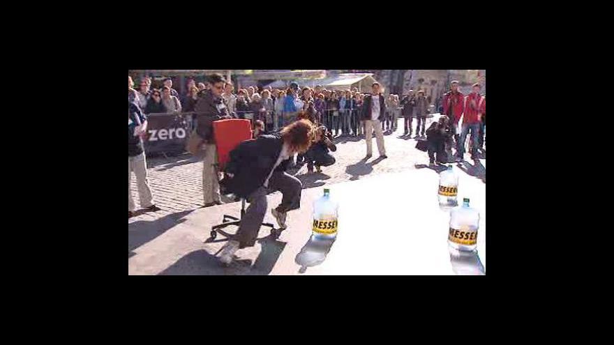 Video Běh kancelářských krys