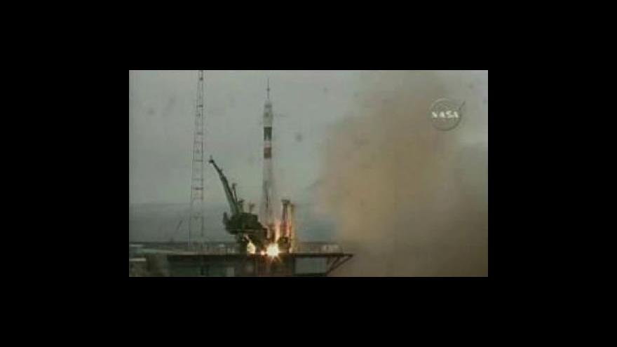 Video Sojuz vyrazí do vesmíru