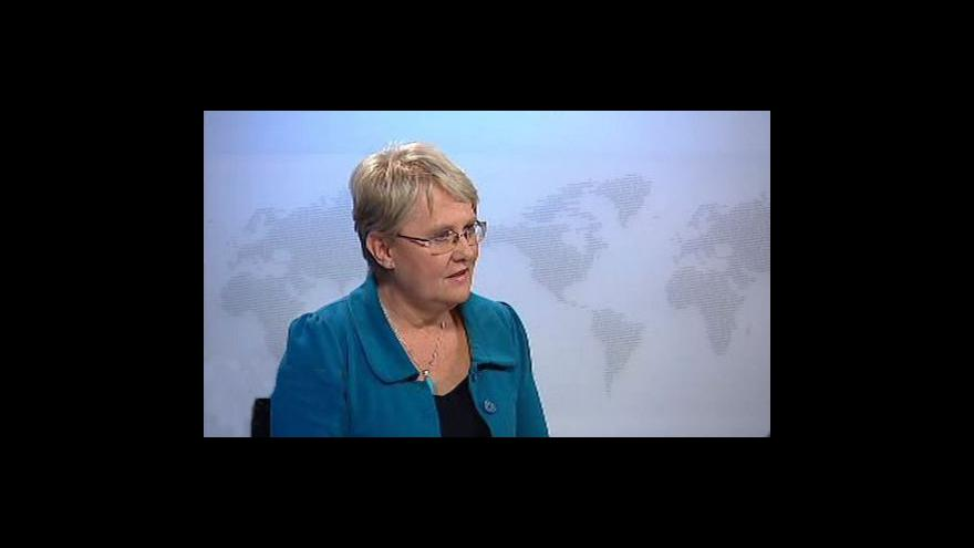 Video Iva Holmerová z Alzheimer Europe ve Studiu ČT24