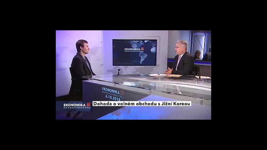 Video Rozhovor s analytikem České spořitelny Janem Jedličkou