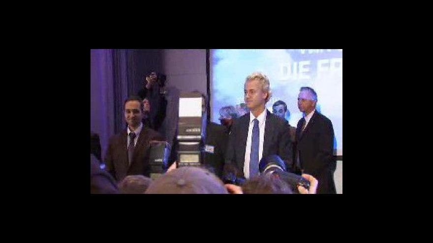 Video Wilders u soudu