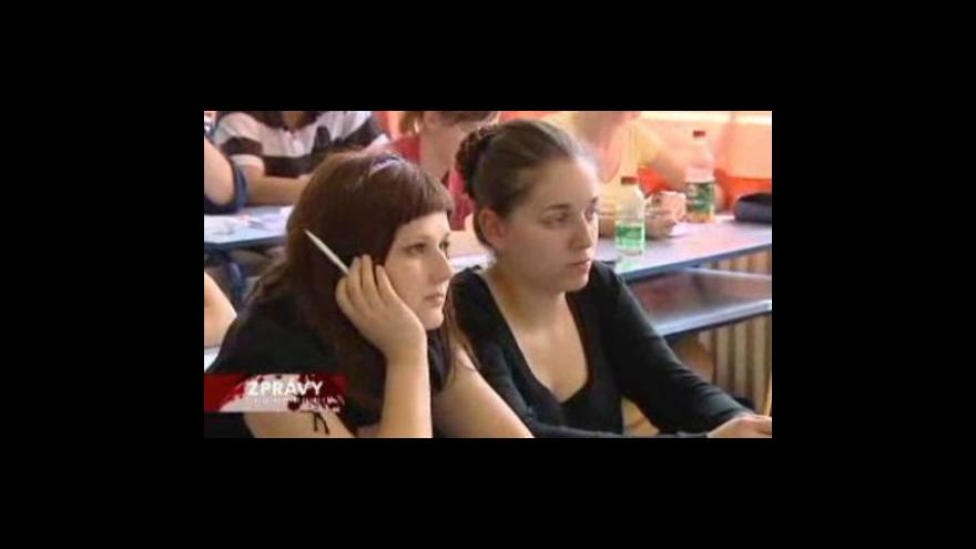 Video Generálka státních maturit se blíží