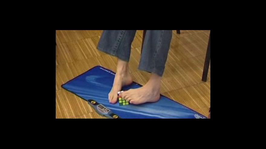 Video Šampionát ve skládání rubikovy kostky