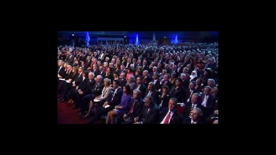 Video Záznam oslav 20. výročí sjednocení Německa