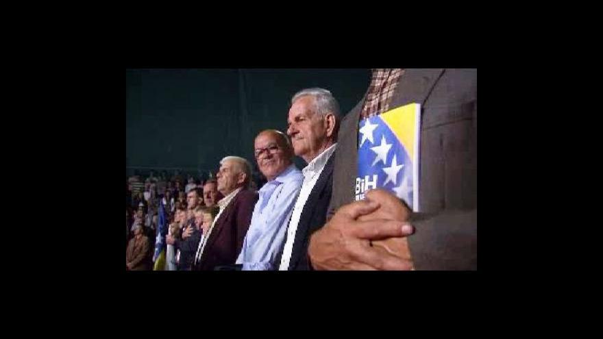 Video Bosňané volí nový parlament