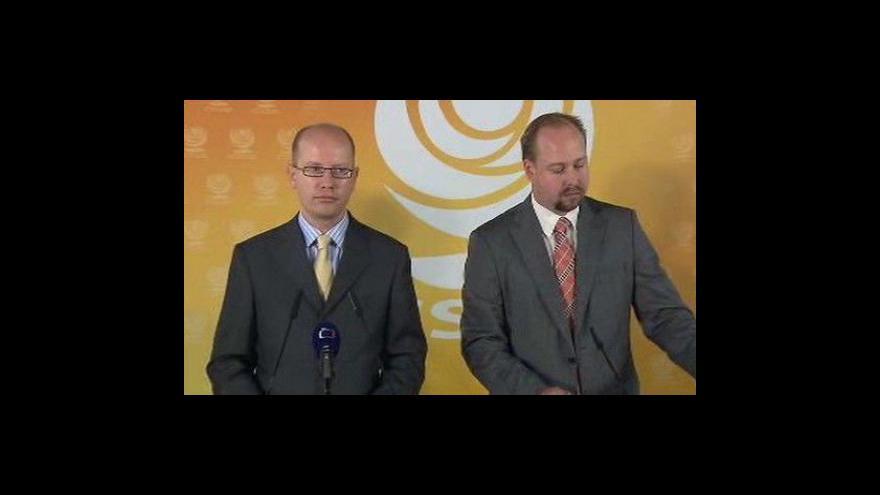 Video Brífink ČSSD k aktivitám ABL