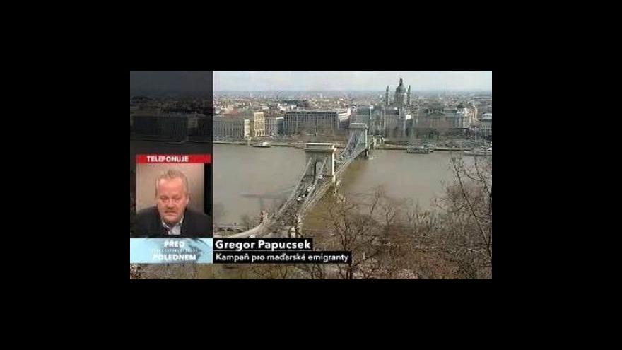 Video Rozhovor s Gregorem Papucskem