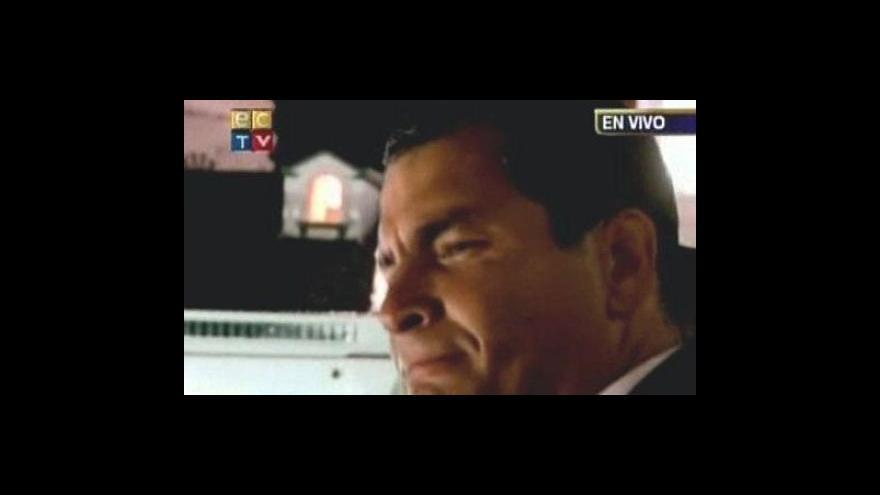 Video Při nepokojích v Ekvádoru dva mrtví