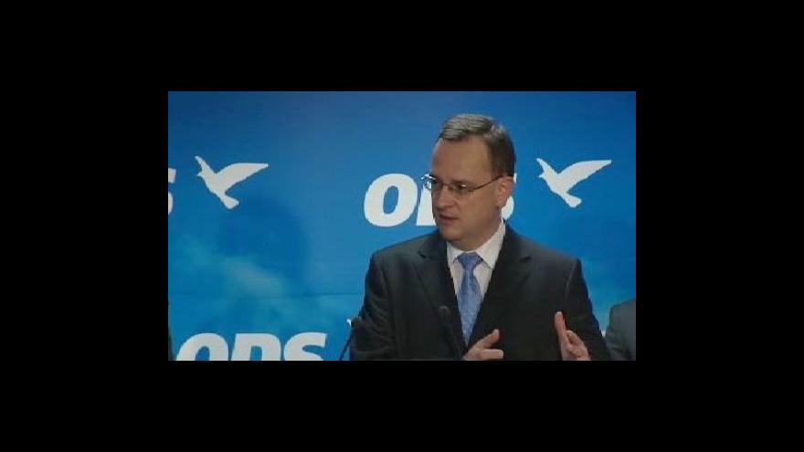 Video Petr Nečas o důchodové reformě a DPH