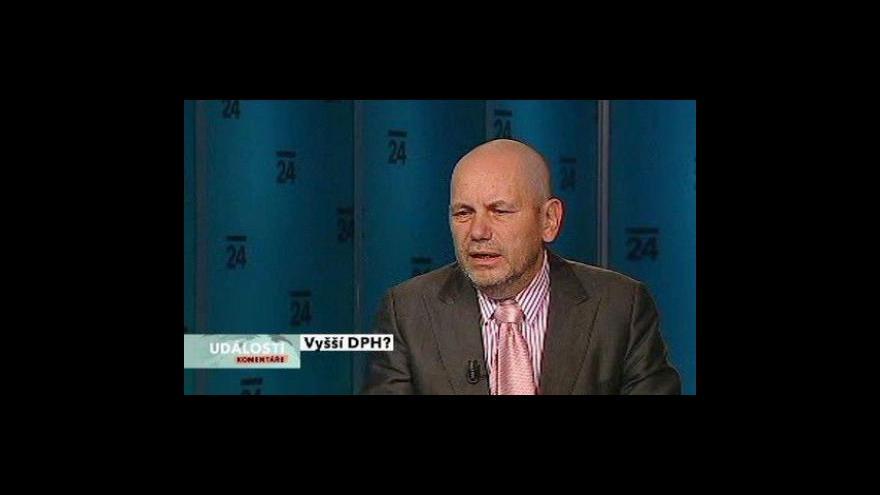 Video Události, komentáře ke zvýšení DPH