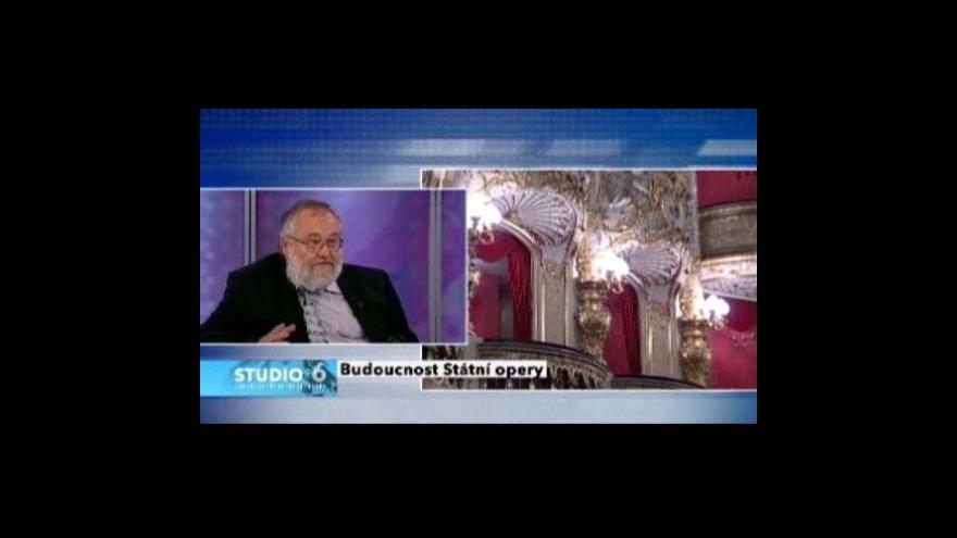 Video Hudební publicista Josef Herman hostem Studia 6