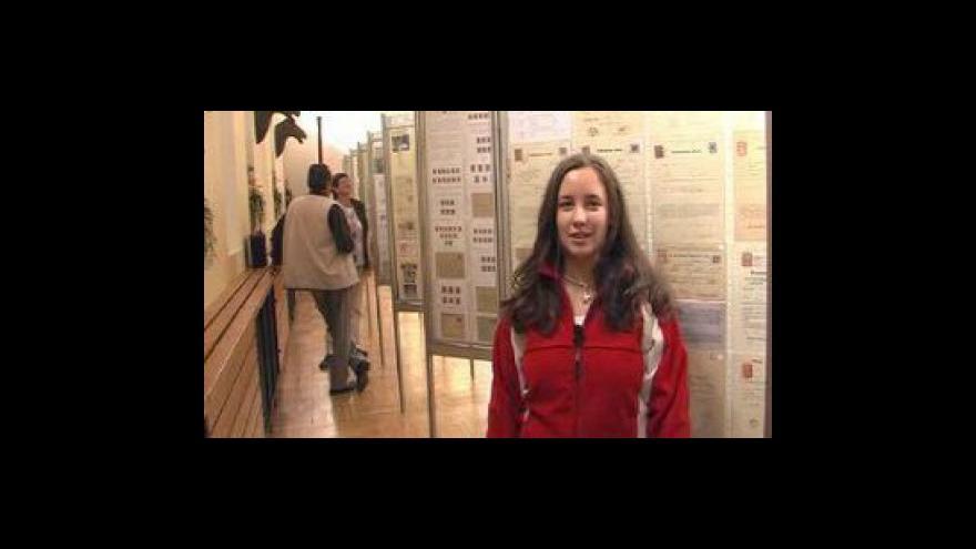 Video Reportáž Veroniky Humhalové