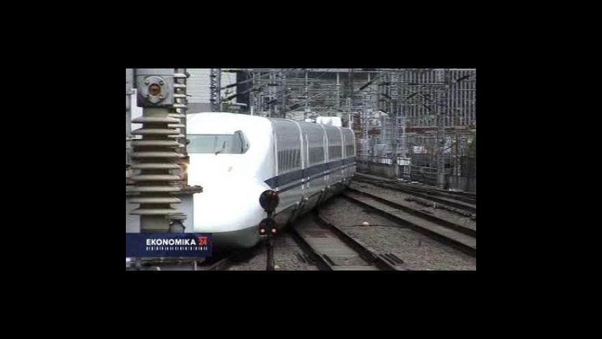 Video Propad japonského exportu