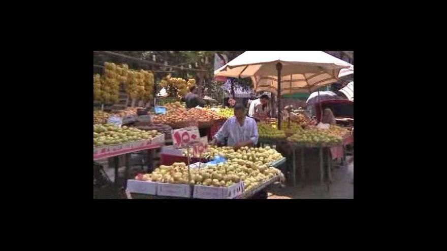 Video Egypťané si nemohou dovolit maso ani ovoce
