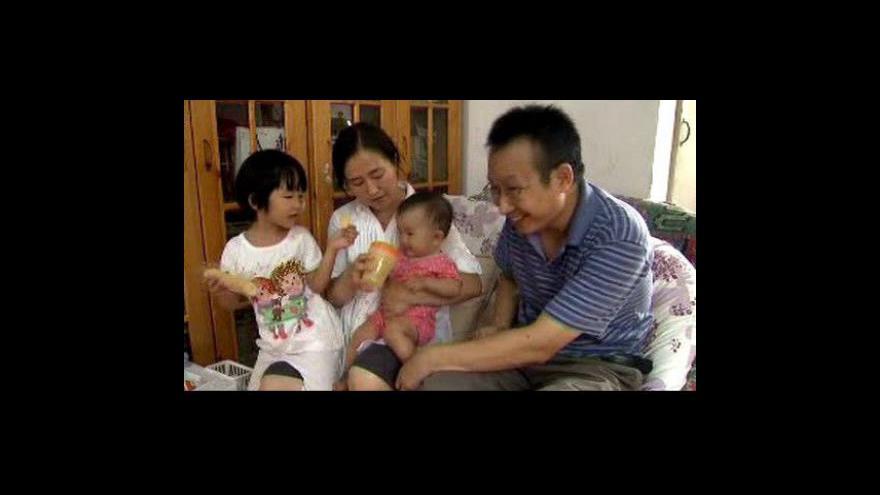 Video Čína povoluje rodičům jen jedno dítě