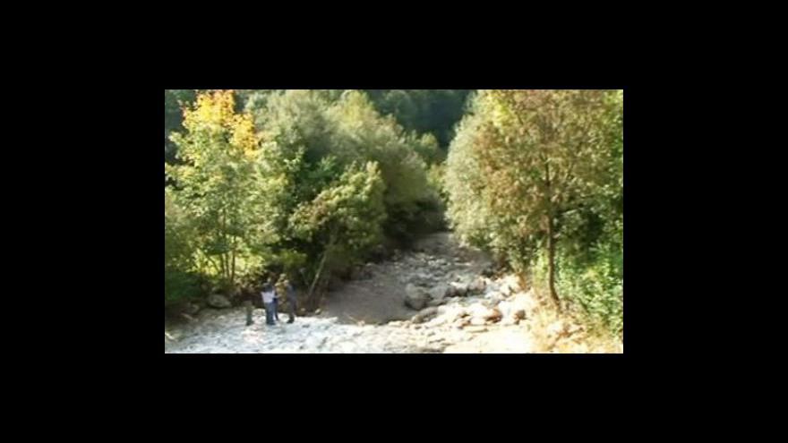 Video Slovinská řeka Iška přes noc zmizela