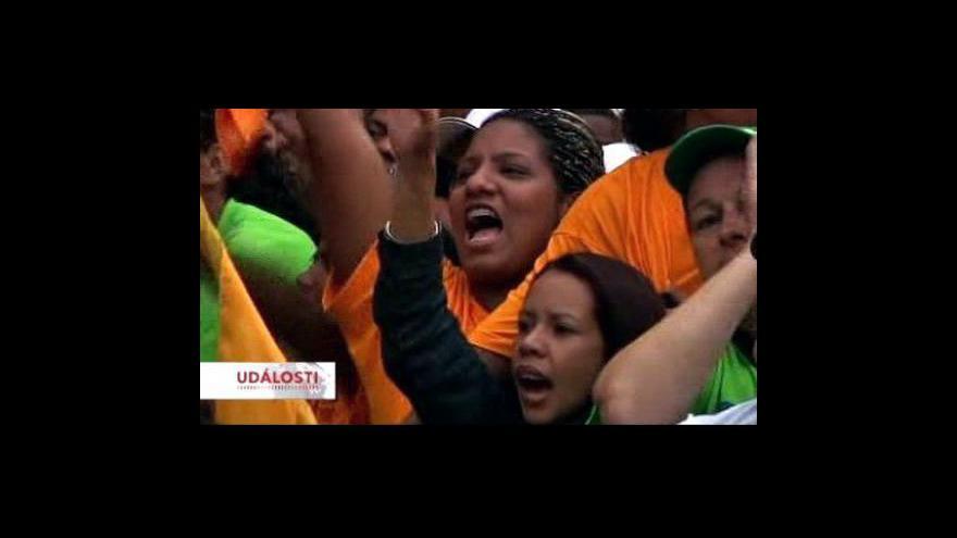 Video Ve Venezuele jsou parlamentní volby