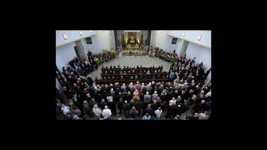 Video Poslední sbohem Martinu Štěpánkovi