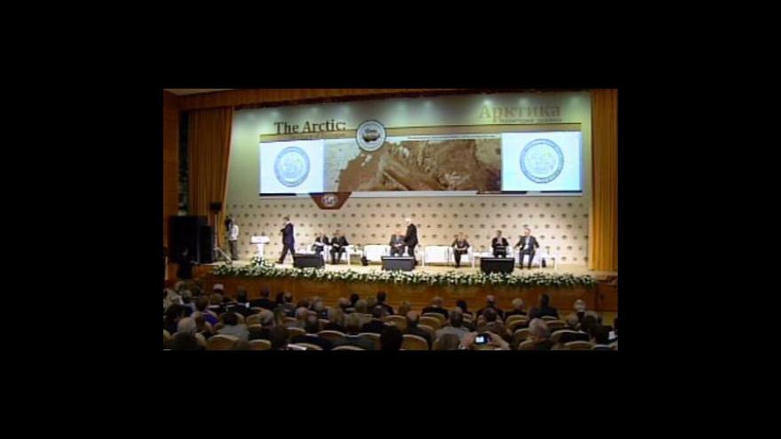 Video V Moskvě začal dvoudenní summit o Arktidě