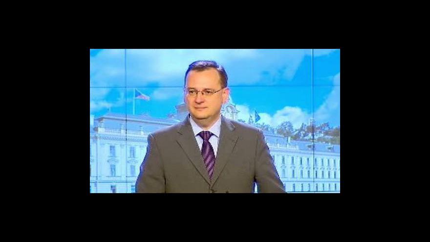 Video Tisková konference po schválení rozpočtu na rok 2011