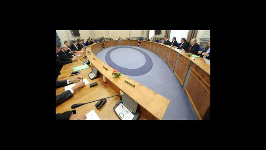 Video Vládu dnes bude jednat o rozpočtu