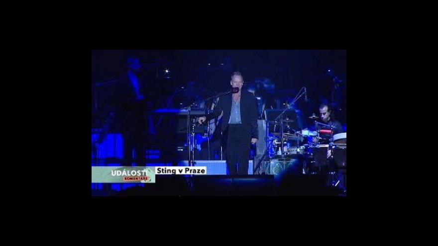 Video Petr Vizina o Stingovi