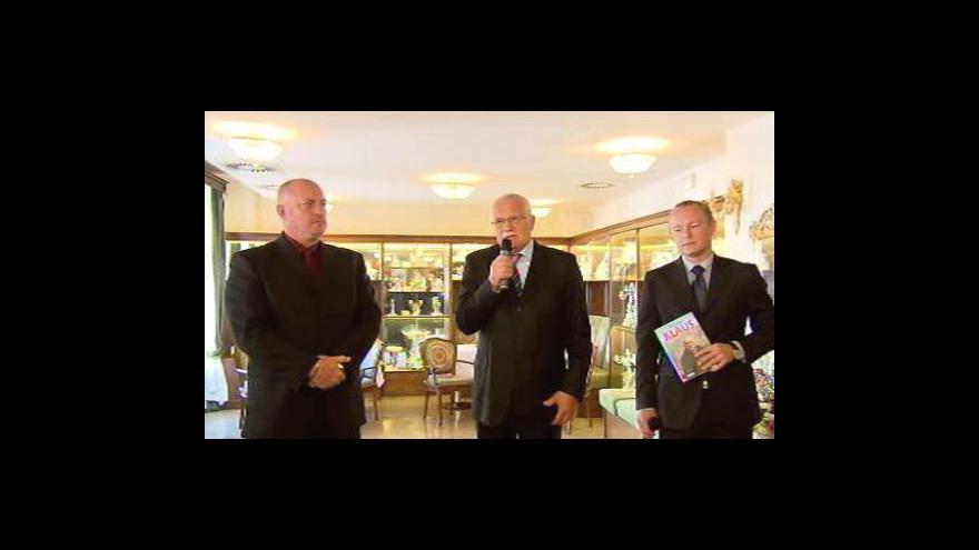 Video Reakce Václava Klause na denšní demonstraci odborů