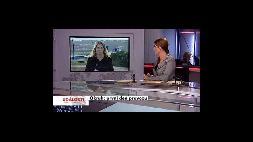Video Vstup a reportáž Barbory Straňákové