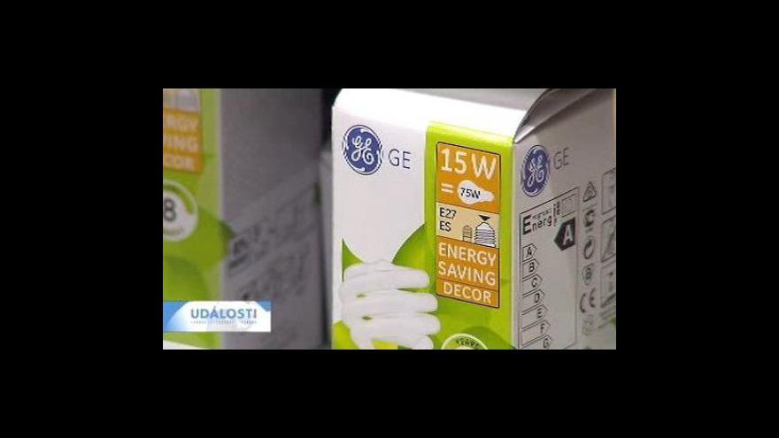 Video Úsporné žárovky spotřebu nesníží