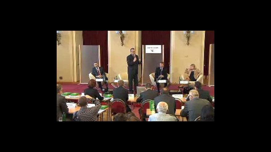 Video Miroslav Kalousek na Žofínském fóru