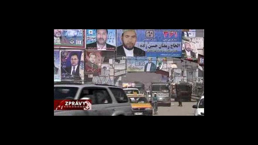 Video Předvolební kampaň v Afghánistánu skončila