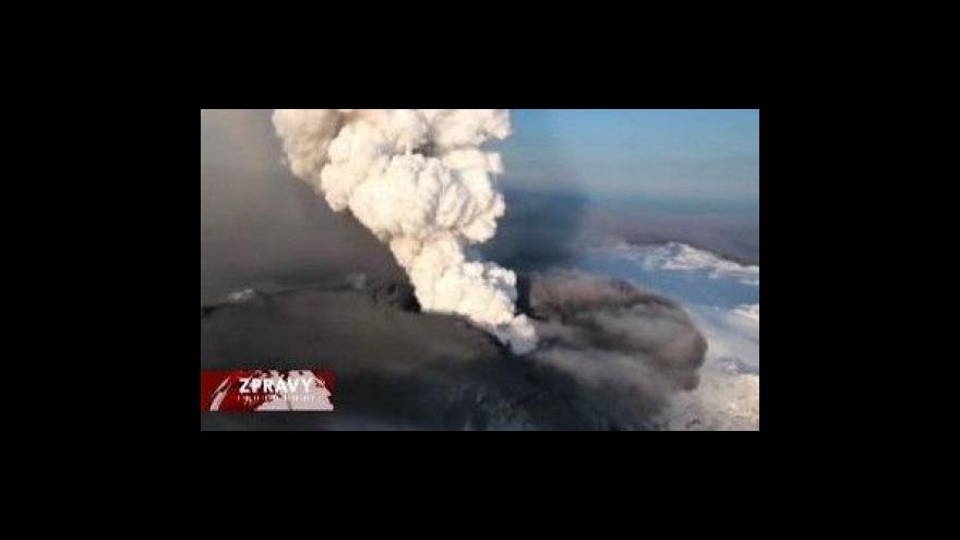 Video Vědci zkoumají jarní soptění na Islandu