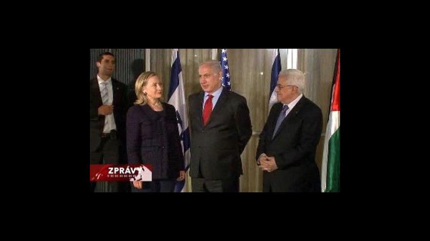 Video Abbás pohrozil odchodem z jednání